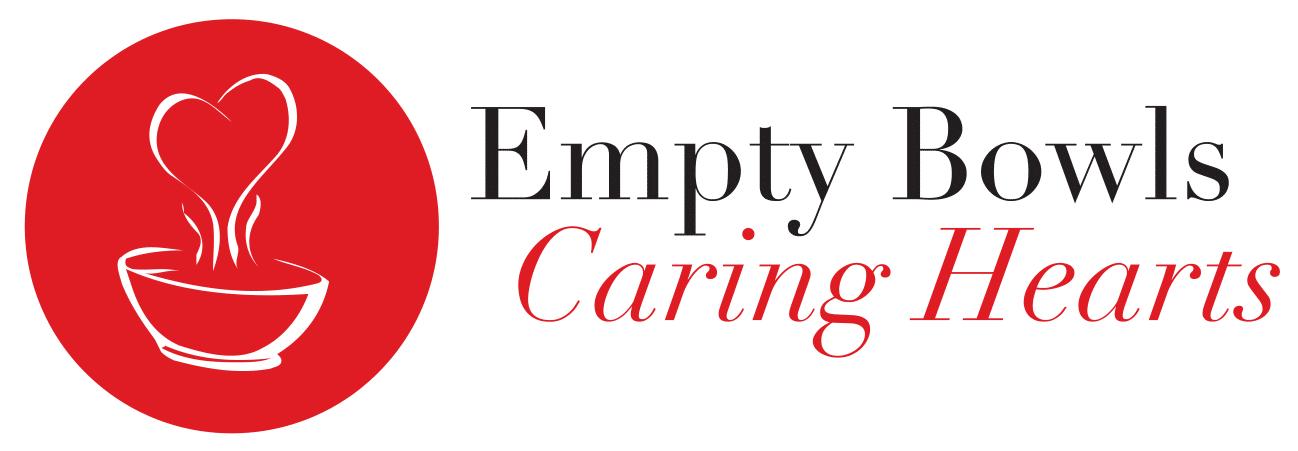 Empty Bowls Caring Hearts logo